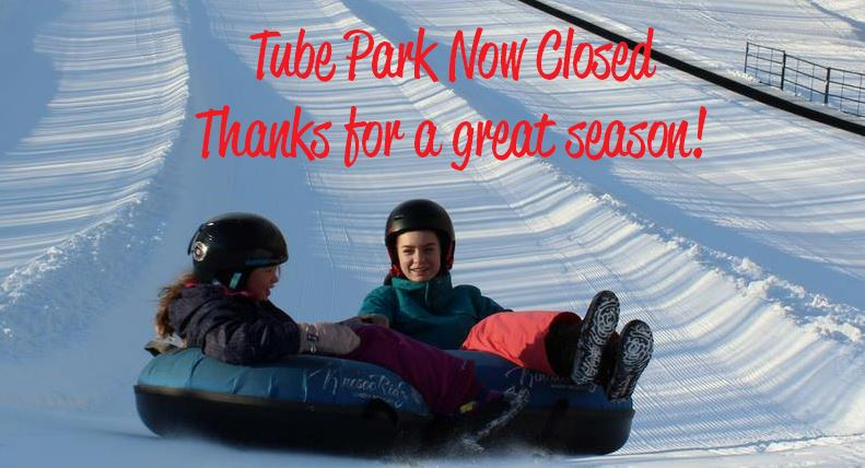 Tube Park Now Closed