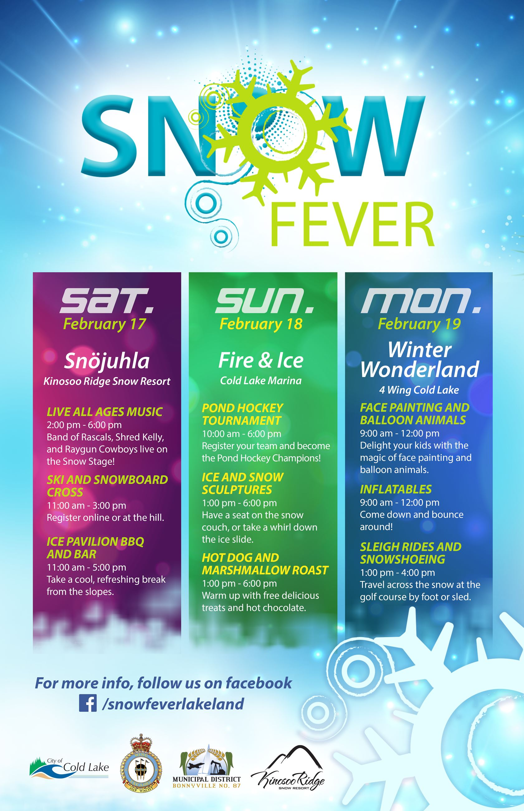 Snow Fever Poster 2018